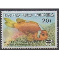 Papouasie-Nouvelle-Guinée - 1987 - No 551 - Vie marine