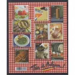 Belgique - 2006 - No 3562/3571 - Gastronomie