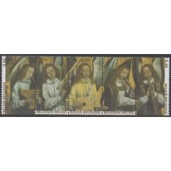 Belgium - 2006 - Nb 3572/3576 - Paintings - Christmas - Music