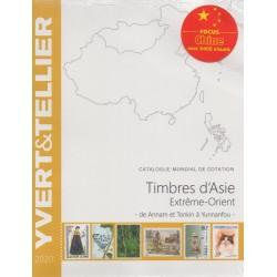 Timbres d'Asie - Extrême-Orient de Annam et Tonkin à Yunnanfou (Edition 2020)
