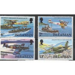 Man (Ile de) - 1978- No 115/118 - Avions