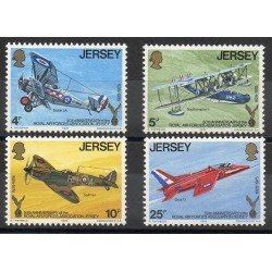 Jersey - 1975- Nb 121/124 - Planes