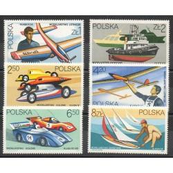 Poland - 1981- Nb 2573/2578 - Planes