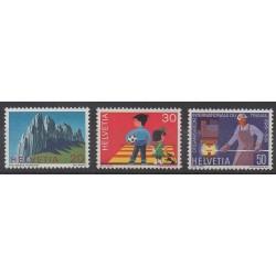 Swiss - 1969 - Nb 838/840