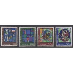 Swiss - 1970 - Nb 857/860 - Craft