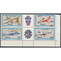 Italy - 1981- Nb 1484/1487 - Planes