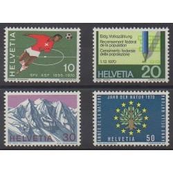 Swiss - 1970 - Nb 864/867