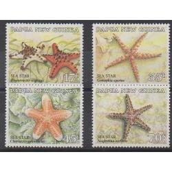 Papua New Guinea - 1987 - Nb 547/550 - Sea life