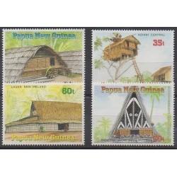 Papouasie-Nouvelle-Guinée - 1989 - No 587/590