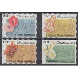 Papouasie-Nouvelle-Guinée - 1989 - No 601/604 - Noël