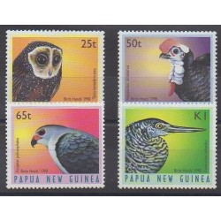 Papua New Guinea - 1998 - Nb 790/793 - Birds