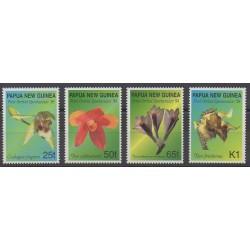 Papouasie-Nouvelle-Guinée - 1998 - No 800/803 - Orchidées