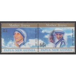 Papua New Guinea - 1998 - Nb 794/795 - Religion