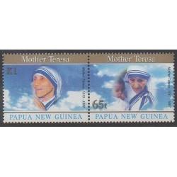 Papouasie-Nouvelle-Guinée - 1998 - No 794/795 - Religion