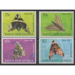 Papouasie-Nouvelle-Guinée - 1998 - No 796/799 - Insectes