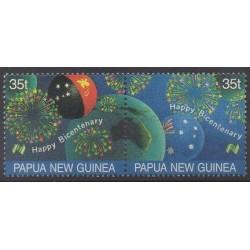 Papouasie-Nouvelle-Guinée - 1988 - No 566/567 - Histoire