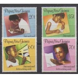 Papouasie-Nouvelle-Guinée - 1989 - No 583/586 - Enfance