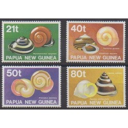 Papua New Guinea - 1991 - Nb 626/629 - Sea life