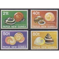 Papouasie-Nouvelle-Guinée - 1991 - No 626/629 - Vie marine