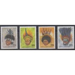 Papouasie-Nouvelle-Guinée - 1991 - No 638/641