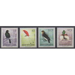Papua New Guinea - 1992 - Nb 642/645 - Birds