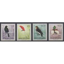 Papouasie-Nouvelle-Guinée - 1992 - No 642/645 - Oiseaux