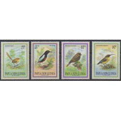 Papua New Guinea - 1993 - Nb 676/679 - Birds