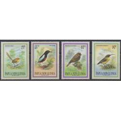 Papouasie-Nouvelle-Guinée - 1993 - No 676/679 - Oiseaux