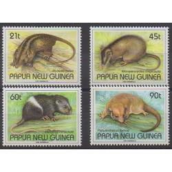 Papouasie-Nouvelle-Guinée - 1993 - No 672/675 - Mammifères