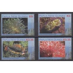 Papouasie-Nouvelle-Guinée - 2008 - No 1207/1210 - Vie marine