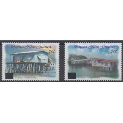 Papouasie-Nouvelle-Guinée - 2004 - No 1006/1007 - Sites
