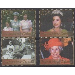 Papua New Guinea - 2002 - Nb 860/863 - Royalty