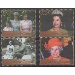 Papouasie-Nouvelle-Guinée - 2002 - No 860/863 - Royauté - Principauté