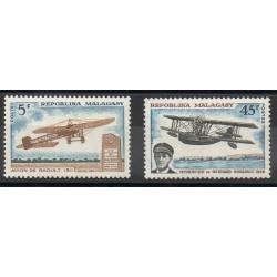 Madagascar - 1967- No 435/436 - Avions