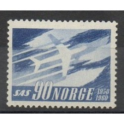 Norway - 1961- Nb 408 - Planes