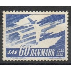 Danemark - 1961- No 396 - Avions