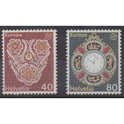 Swiss - 1976 - Nb 1003/1004 - Craft - Europa
