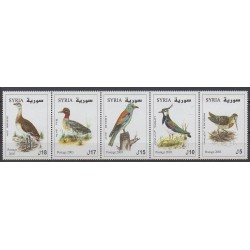 Syrie - 2003 - No 1232/1236 - Oiseaux