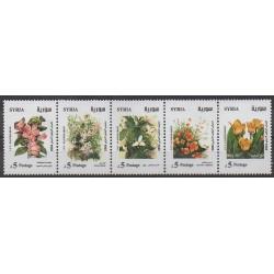 Syrie - 2004 - No 1250/1254 - Fleurs