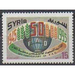 Syria - 1995 - Nb 1034 - Various Historics Themes