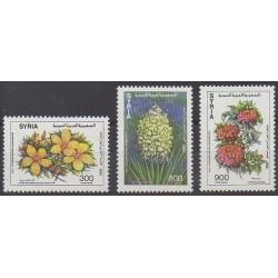 Syrie - 1992 - No 957/959 - Fleurs