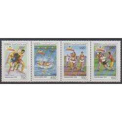 Syrie - 1992 - No 960/963 - Jeux Olympiques d'été