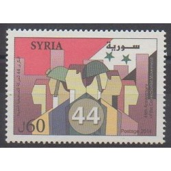 Syria - 2014 - Nb 1553 - Various Historics Themes