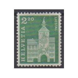 Swiss - 1964 - Nb 737 - Monuments