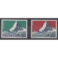 Swiss - 1965 - Nb 753/754 - Sights
