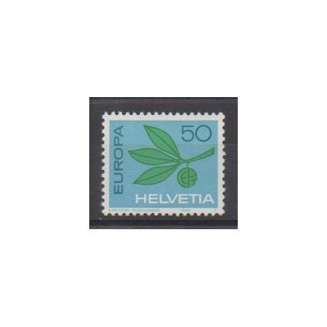 Swiss - 1965 - Nb 758 - Europa