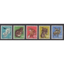 Swiss - 1966 - Nb 778/782 - Mamals