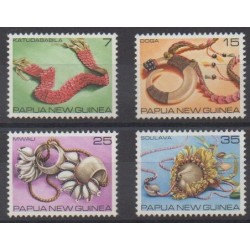 Papouasie-Nouvelle-Guinée - 1979 - No 367/370