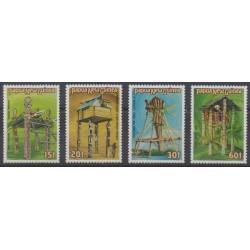 Papouasie-Nouvelle-Guinée - 1985 - No 490/493