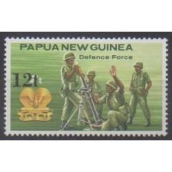 Papouasie-Nouvelle-Guinée - 1985 - No 494 - Histoire militaire